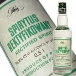 世界の強いお酒(2)世界一のお酒はスピリタス
